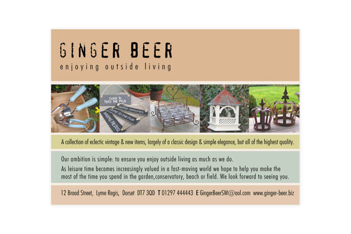 Ginger Beer Advert 1