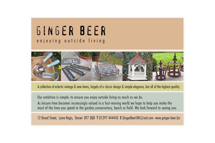 Ginger Beer Advert 1