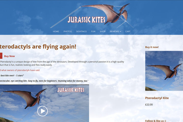 jurassic kites